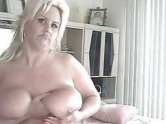 Amateur, Big Boobs, Blonde, Mature
