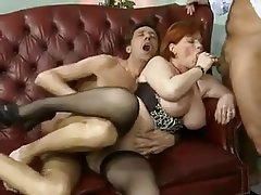 Big Boobs, Facial, Old and Young, Double Penetration