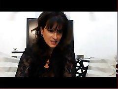 Big Boobs, Brunette, Mature, Webcam