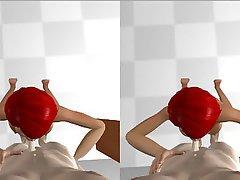 Hentai, Reality, Anime, 3D