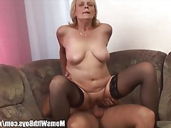 Blonde, Blowjob, Mature, MILF