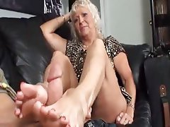 Foot Fetish, Mature, Old and Young