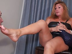 mom foot fetish porn Foot Fetish Homemade Solo Clip With My Exotic Wife Showing Her F.