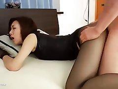 Blowjob, Japanese, Pantyhose
