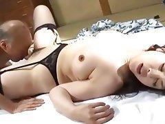 Asian, Creampie, Mature