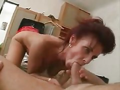 Tasty plump mom with flabby yummy body hairy cunt amp guy